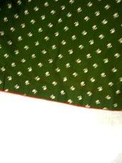画像5: アンティークコインボタン 小花柄が可愛い フォークロア グリーン ディアンドル チロルワンピース ドイツ民族衣装 舞台 演奏会 フォークダンス オクトーバーフェスト 【1439】 (5)