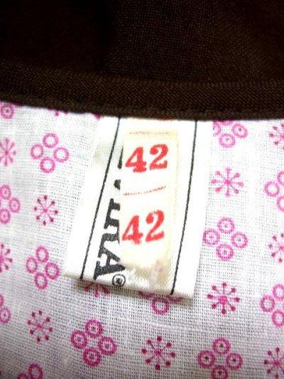 画像3: 見事な刺繍×スカート裾リボン装飾 花柄刺繍が可愛い ブラウン ディアンドル チロルワンピース ドイツ民族衣装 舞台 演奏会 フォークダンス オクトーバーフェスト 【1631】