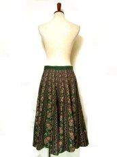 画像5: フォークロア×レトロフラワー シルエットがとっても綺麗 チロルスカート ドイツ民族衣装 舞台 演劇 演奏会 フォークダンス オクトーバーフェスト 【6641】 (5)