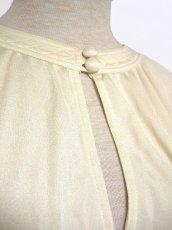 画像5: ヨーロッパ古着 大人アンティーク×シルエットが綺麗♪ふんわり優しい印象のアンティークドレス ドイツ製 (5)