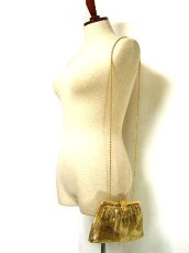 画像2: メタリック パーティースタイル 高級感たっぷり レディース レトロ ショルダー 鞄 バッグ【1798】 (2)