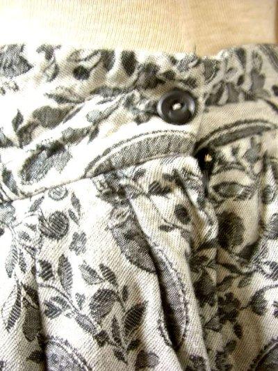 画像1: ペイズリー柄 レトロクラシカル オーストリア チロルスカート ドイツ民族衣装 舞台 演劇 演奏会 フォークダンス オクトーバーフェスト 【1861】