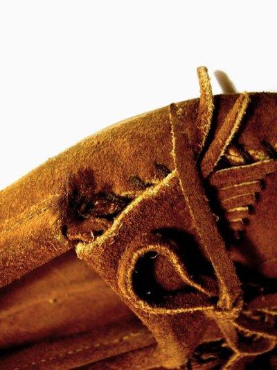 画像3: ☆ ミネトンカのモカシンシューズ♪可愛いブラウンカラー 本革 ☆