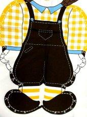 画像5: 70'sDead Stock Fabric タペストリー4 チェック×カントリー【2365】 (5)