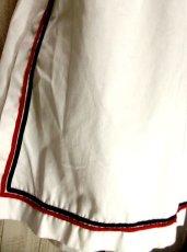 画像5: ☆ ヨーロッパ古着 レトロマリンルック♪エプロン風デザイン!!ITALY製ヴィンテージスカート ☆ (5)