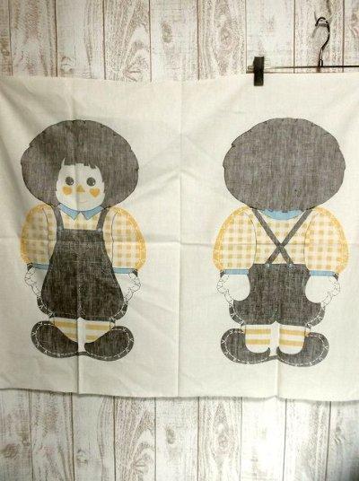 画像3: 70'sDead Stock Fabric タペストリー4 チェック×カントリー【2365】