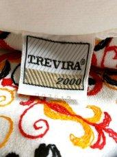 画像4: ヨーロッパヴィンテージ×刺繍だけで主役級×ぷっくり刺繍が可愛い×キレイなシルエットラインヴィンテージワンピース (4)