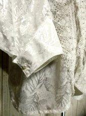 画像5: フランス製 アンティークレース ホワイト ディアンドル チロルブラウス ドイツ民族衣装 舞台 演奏会 フォークダンス オクトーバーフェスト【2717】 (5)