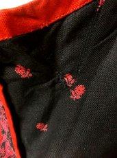 画像5: 花柄×小さなハート柄 後ろから見ても素敵すぎる 大人可愛い ディアンドル チロルワンピース ドイツ民族衣装 舞台 演奏会 フォークダンス オクトーバーフェスト 【1354】 (5)