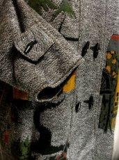 画像3: ☆ 馬車・お城模様編みが可愛すぎる♪デザインが魅力的★レトロフォークロア インポート上質コート ☆ (3)