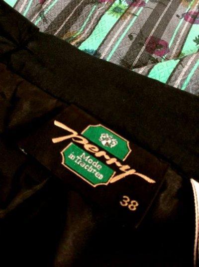 画像3: アンティークフラワー×ストライプ柄プリント シルエットが素晴らしく綺麗 チロルスカート ドイツ民族衣装 舞台 演劇 演奏会 フォークダンス オクトーバーフェスト 【3038】