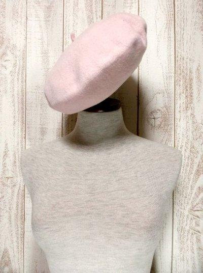 画像1: ☆ ふんわり可愛いレトロアンティークなヨーロッパベレー帽 3 ☆