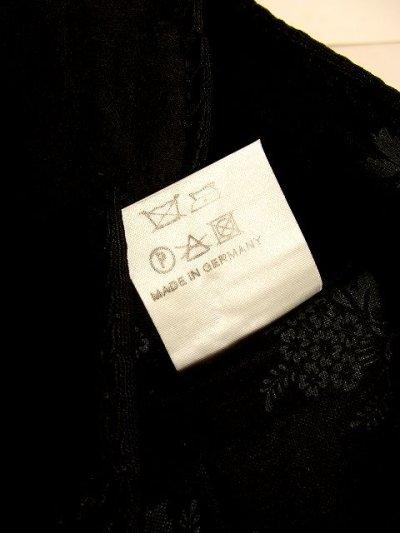 画像3: ☆ ヨーロッパ古着 上質の逸品!!goldフラワー刺繍が素晴らし〜い!!リボンテープ装飾×ベロア!!大人クラシカルチロルベスト ドイツ製 ☆
