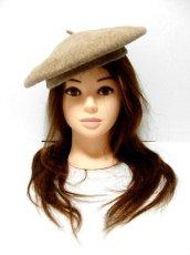 画像3: ☆ ふんわり可愛いレトロアンティークなヨーロッパベレー帽 5 ☆ (3)