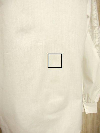 画像3: フリル 贅沢レース使い ホワイト ディアンドル チロルブラウス ドイツ民族衣装 舞台 演奏会 フォークダンス オクトーバーフェスト 【3862】