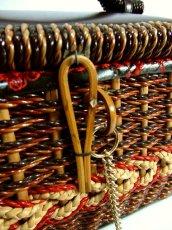 画像4: ☆ 1970年代sewing boxソーイングバスケット 裁縫・HandMade好きな方にもおすすめ ☆ (4)