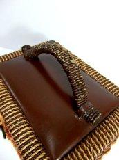 画像5: ☆ 1970年代sewing boxソーイングバスケット 裁縫・HandMade好きな方にもおすすめ ☆ (5)