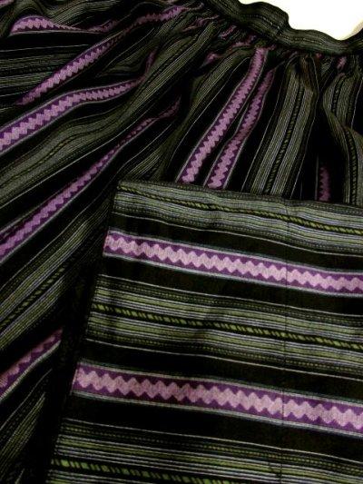 画像3: ストライプ柄ライン チロルスカート ドイツ民族衣装 舞台 演劇 演奏会 フォークダンス オクトーバーフェスト 【4010】