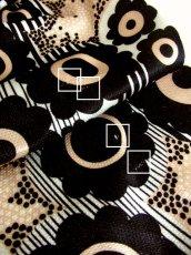 画像8: ☆ ヨーロッパ古着 レトロポップフラワー・大人モダン×ストライプパターン!!ヴィンテージならではのデザイン&カラーリングが最高にかっこいいー!!70's大人ヴィンテージスタイルTOPS ☆ (8)
