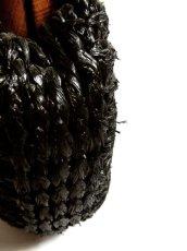 画像6: ウッドハンドル ブラック ころんとしたカタチが可愛らしい レディース レトロ 鞄 バッグ【4224】 (6)