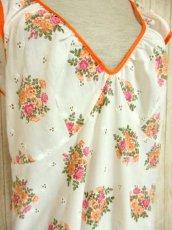 画像3: ヨーロッパ古着×ドイツ製×アンティークフラワー柄が可愛い×大人レトロガーリーなヨーロピアンヴィンテージドレス (3)
