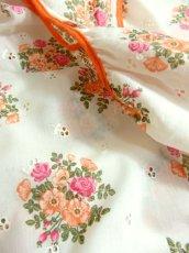 画像7: ヨーロッパ古着×ドイツ製×アンティークフラワー柄が可愛い×大人レトロガーリーなヨーロピアンヴィンテージドレス (7)