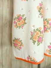 画像6: ヨーロッパ古着×ドイツ製×アンティークフラワー柄が可愛い×大人レトロガーリーなヨーロピアンヴィンテージドレス (6)