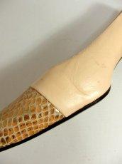 画像6: レトロパンプス ヒールが低めで履きやすそう【4510】 (6)