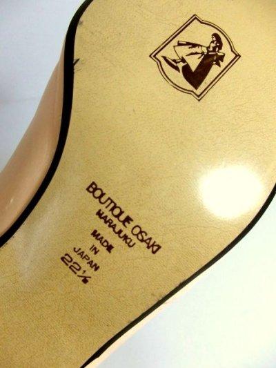 画像2: レトロパンプス ヒールが低めで履きやすそう【4510】