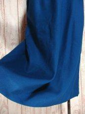 画像4: ☆ USA古着 綺麗なブルーカラー♪レトロアンティークヴィンテージウールスカート ☆ (4)