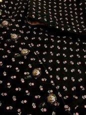 画像11: 小花柄×アンティークレース装飾がとびっきり可愛い パフスリーブ ディアンドル チロルワンピース ドイツ民族衣装 舞台 演奏会 フォークダンス オクトーバーフェスト 【4765】 (11)