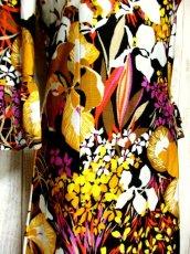 画像6: 70年代 サイケ 花柄 フレア袖 レトロ ヨーロッパ古着 ヴィンテージドレス 【4806】  (6)