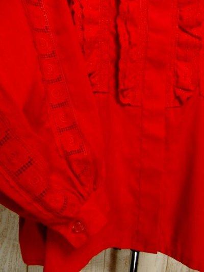 画像2: アンティークレース使い たっぷりボリューム袖デザイン おしゃれ上級者アイテム ディアンドル チロルブラウス ドイツ民族衣装 舞台 演奏会 フォークダンス オクトーバーフェスト【4812】