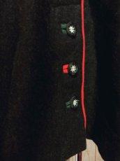 画像8: 動物×ソリ刺繍×チロルテープ装飾 ウッド調ボタンがアクセント チロルスカート ドイツ民族衣装 舞台 演劇 演奏会 フォークダンス オクトーバーフェスト 【4849】 (8)