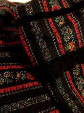 画像7: ストライプ×アンティークフラワー×リボンテープ×レース装飾 チロルスカート ドイツ民族衣装 舞台 演劇 演奏会 フォークダンス オクトーバーフェスト 【4850】 (7)