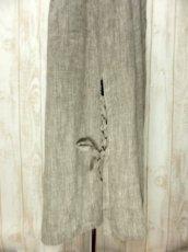 画像6: リネン×ベロア×クロステッチ刺繍装飾 ベルトSET チロルスカート ドイツ民族衣装 舞台 演劇 演奏会 フォークダンス オクトーバーフェスト 【4923】 (6)