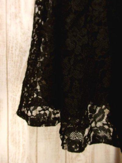 画像2: ☆ ヨーロッパ古着 贅沢な花柄総レースが素晴らしい!!♪ 上品な印象★ 大人クラシカル総レースヴィンテージスカート ☆
