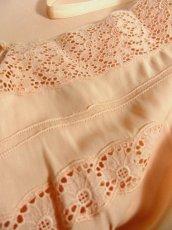 画像9: ヨーロッパ古着 ワンピースにはもちろん♪重ね着にも便利で可愛い!!ヨーロッパスリップドレスワンピース Pink (9)