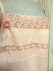 画像3: ヨーロッパ古着 ワンピースにはもちろん♪重ね着にも便利で可愛い!!ヨーロッパスリップドレスワンピース Pink (3)
