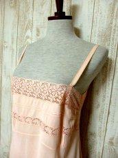 画像8: ヨーロッパ古着 ワンピースにはもちろん♪重ね着にも便利で可愛い!!ヨーロッパスリップドレスワンピース Pink (8)