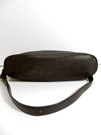 画像3: 大きめサイズ ブラック 本革レザー レディース レトロ ショルダー 鞄 バッグ【5210】