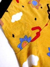 画像14: ヨーロッパ古着 レトロポップデザイン!! ストライプ×レトロプリント♪ 一着で個性的!! ヴィンテージオールインワン (14)