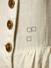 画像15: 大人フォークロア×かぎ編み切り返しデザイン レトロアンティークなウッド調ボタン装飾 ディアンドル チロルワンピース ドイツ民族衣装 舞台 演奏会 フォークダンス オクトーバーフェスト 【5375】 (15)