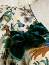 画像4: オーストリア製 鳥×ウサギ×フラワープリント切り替えしデザイン×リボン装飾 大人クラシカルガーリー ディアンドル チロルワンピース ドイツ民族衣装 舞台 演奏会 フォークダンス オクトーバーフェスト 【5415】 (4)