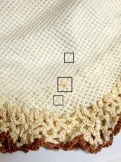 画像9: 大きな持ち手 模様編み ガーリー レディース レトロ ハンド 鞄 バッグ【5522】 (9)