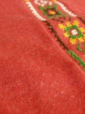 画像11: フォークロア刺繍装飾 綺麗なシルエットライン USA古着 長袖 シャツ ヴィンテージトップス【5528】 (11)