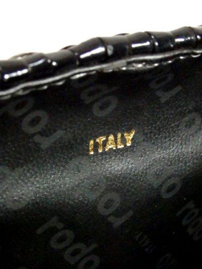 画像3: ブラック ヨーロッパ古着 レディース レトロ ショルダー 鞄 バッグ【5534】