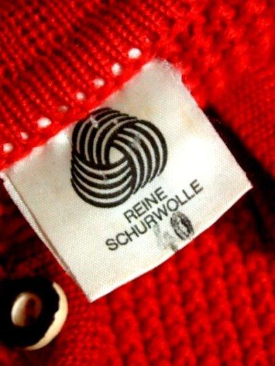 画像3: ☆ ヨーロッパ古着 袖にモコモコ編み模様×ふんわり袖が可愛らし〜い♪ 使い勝手が抜群!!★レトロガーリー チロルニットカーディガン ☆