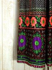 画像11: サイケ 衣装にもおすすめ コレクション級 70's 花柄 ワイドパンツデザイン 個性的 ノースリーブ レトロ ポップ ヨーロッパ古着 ヴィンテージオールインワン【5660】 (11)