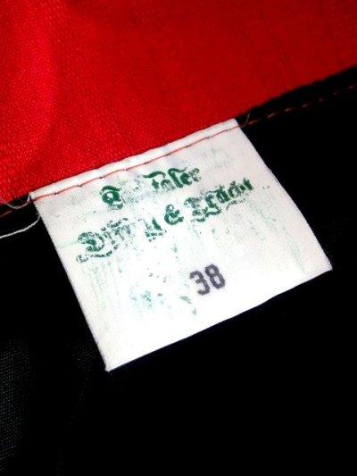 画像2: ドイツ製 360度大人可愛いアンティークフラワープリント チロルスカート ドイツ民族衣装 舞台 演劇 演奏会 フォークダンス オクトーバーフェスト 【5678】